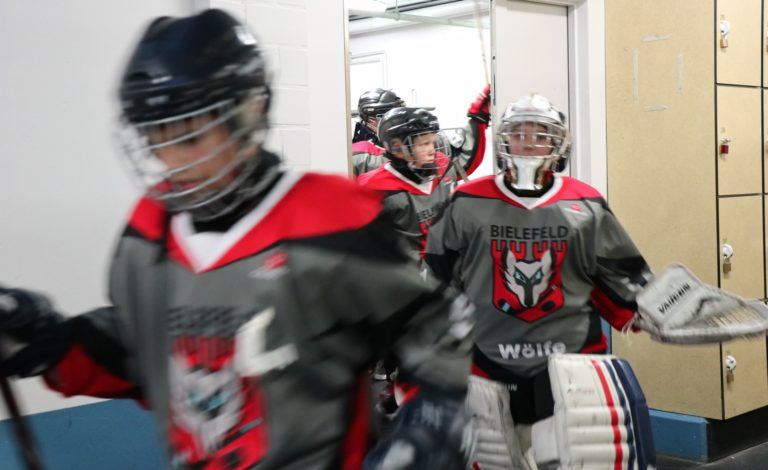 Eishockey U-13 Spiel SV Brackwede (1)