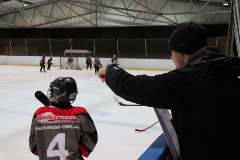 Eishockey U-13 Spiel SV Brackwede (8)